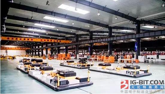 新松AGV机器人市场保有量超8000台 2017年销售额超6亿元