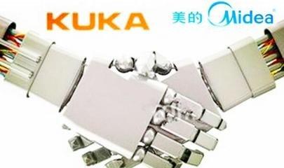 美的与库卡设立合资公司 机器人年产能将达十万台