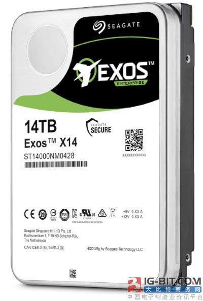 希捷发布企业级Exos X充氦机械硬盘新品 最高容量14TB