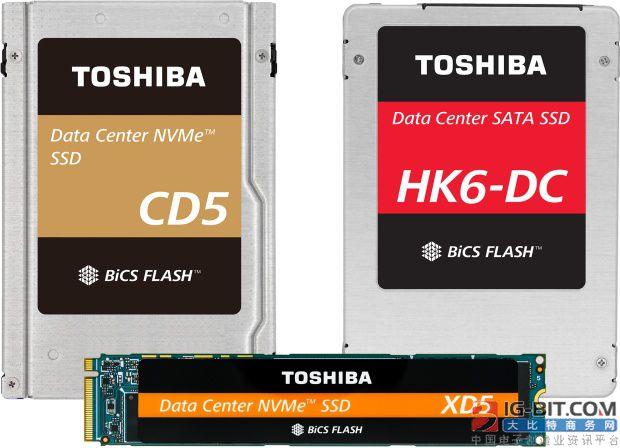 东芝发布CD5/XD5/HK6-DC系列NVMe SSD与KumoScale软件