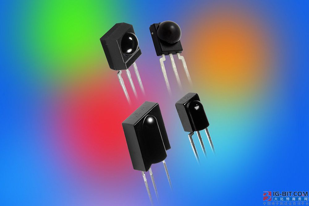 Vishay新一代微型红外接收器具有更高的灵敏度、噪声抑制能力和脉宽准确度