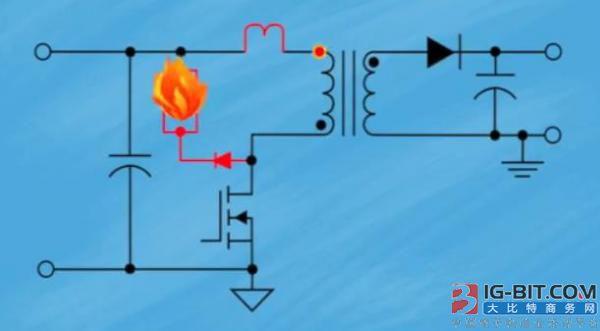 电子变压器的漏感