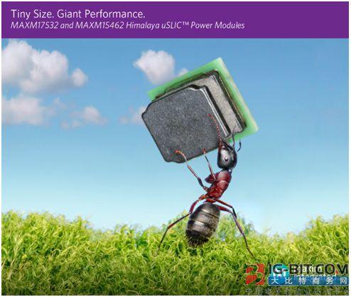 Maxim发布业界最小电源模块