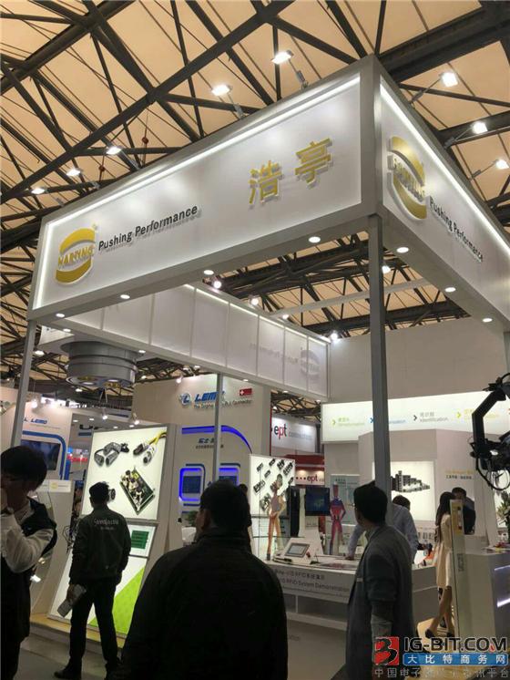浩亭带来ix Industrial的连接器方案