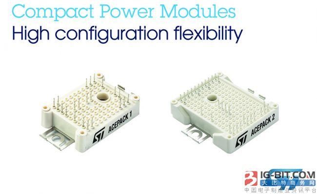 ST新ACEPACK功率模块可用于工业电机驱动和电动汽车应用