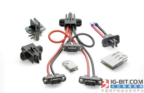 TE Connectivity推出48V汇流条连接器和电缆组件