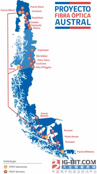 华为海洋网络将参建全球最南端海底光缆项目