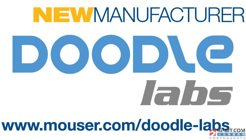 贸泽电子与Doodle Labs签订全球分销协议 率先开售 Doodle Labs的工业级Wi-Fi 收发器