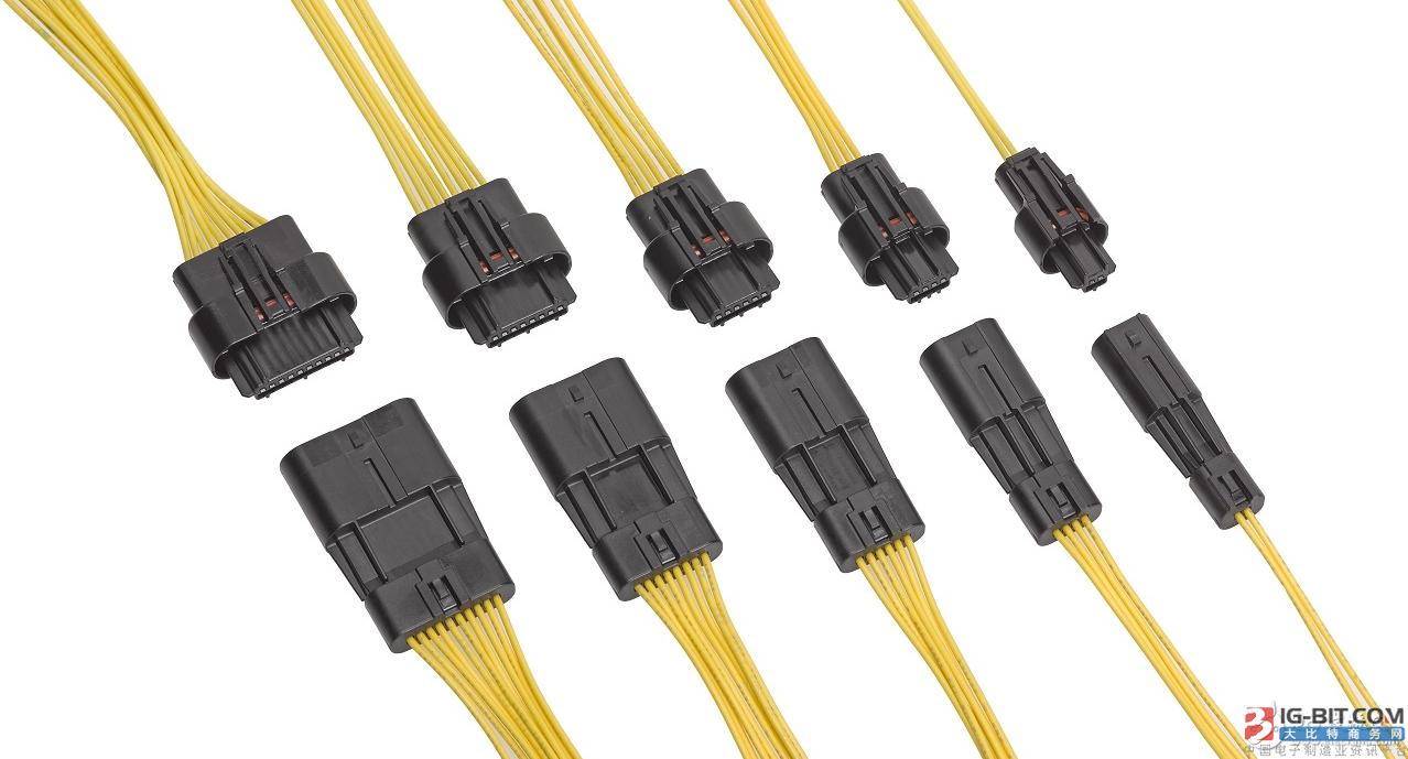 Molex推Squba 1.80 毫米螺距密封式线对线连接器系统