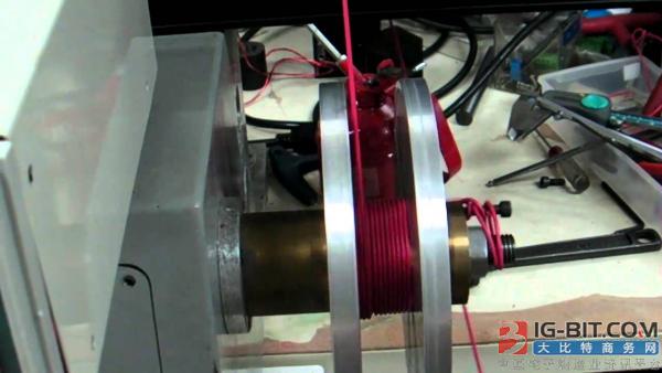 磁件企业自动化效果显现