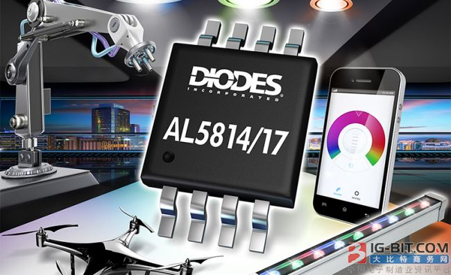 Diodes推出多款线性LED控制器,适用于商业和工业领域
