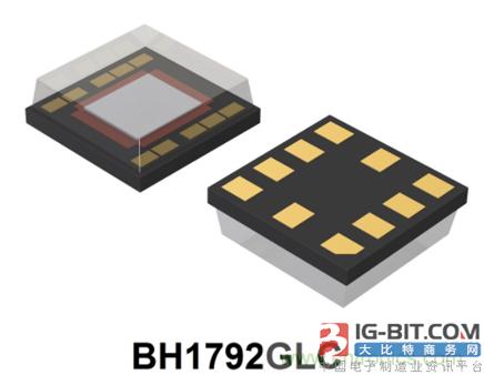 ROHM推出高速脉搏传感器——BH1792GLC