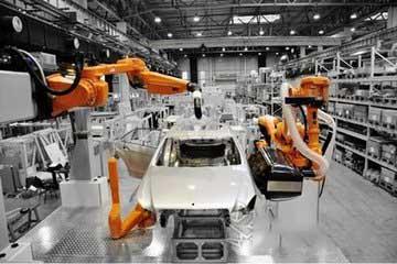 柔性机器人工作站提速汽车行业智能制造