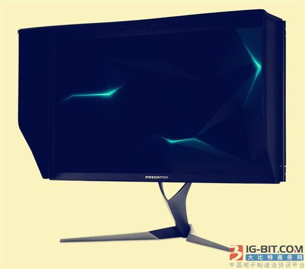 宏碁/华硕4K 144Hz显示器发售:售价1.8万