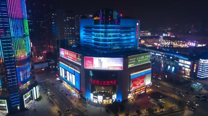 飞利浦LED照明系统点亮宁波地标中山路绚丽夜景