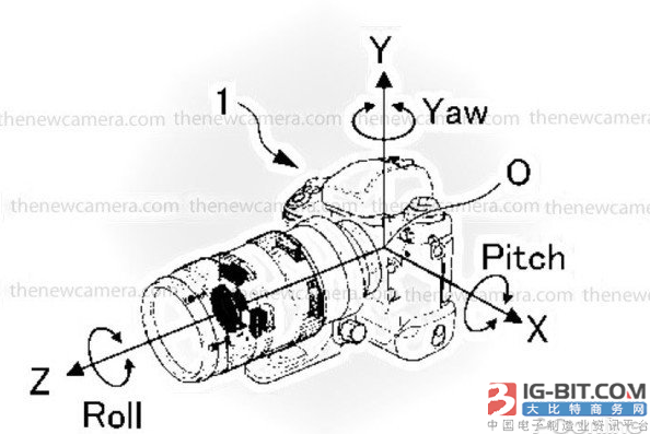 尼康研发用于单反上的5轴IS防抖系统