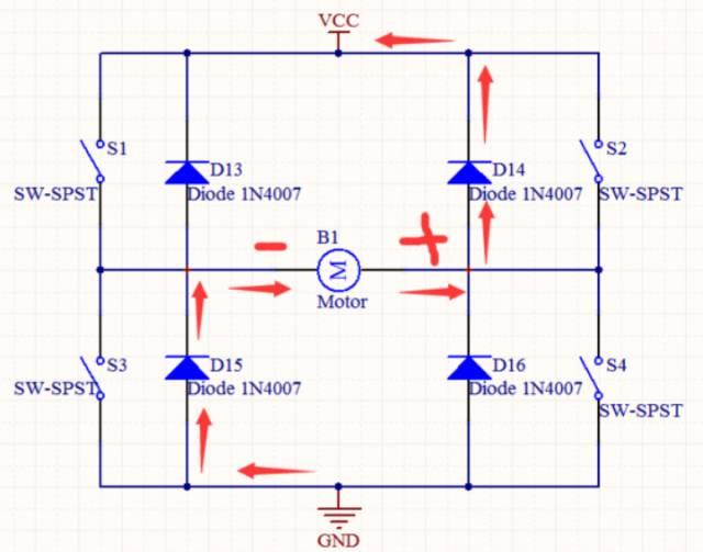 马达7812的整流电路图
