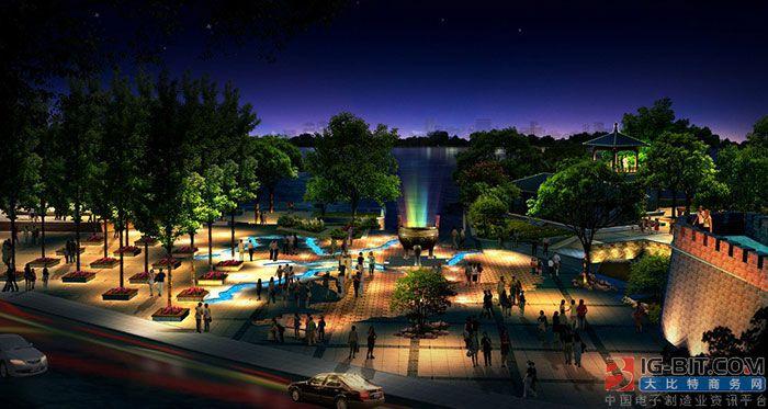 奥拓电子将会加大对LED景观照明的投入力度