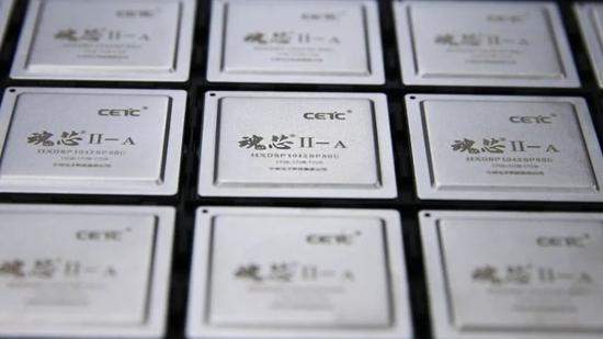 """中国""""魂芯二号A""""芯片:运算性能业界同类最强"""
