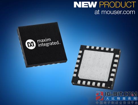 贸泽备货Maxim超低功耗MAX12900传感器变送器