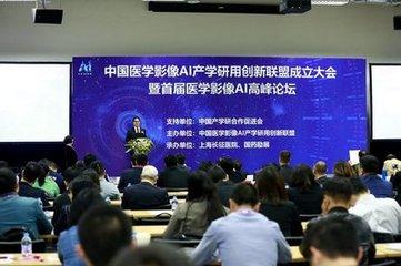 中国医学影像AI(人工智能)产学研用创新联盟成立