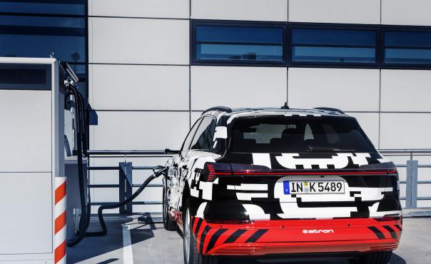 奥迪将推出e-tron电动SUV 充电速度碾压特斯拉