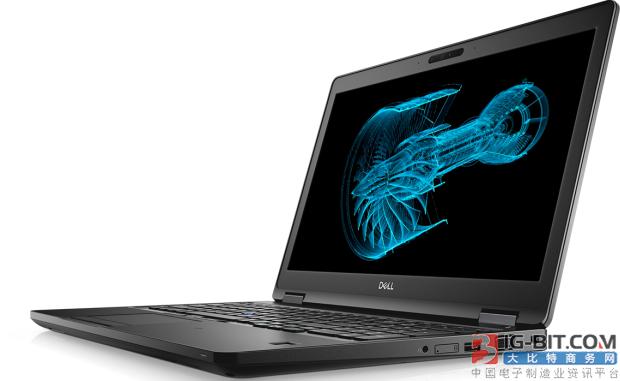 戴尔发布全新Precision移动工作站 内置Core i9和Nvidia Quadro显卡