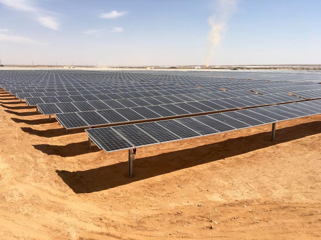 到2023年 中东五国累计光伏装机容量将达约22.4吉瓦