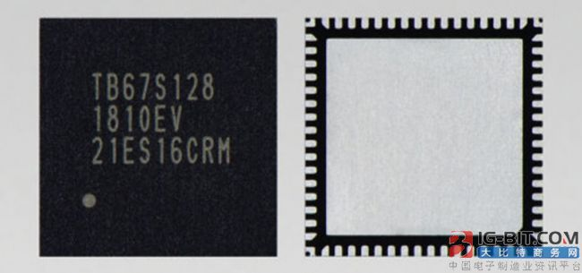 东芝高分辨率微步进电机驱动器IC样品即将出货