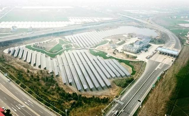江苏省高速公路首批互通区分布式光伏电站并网投运