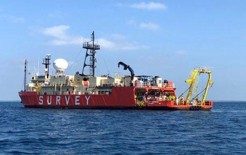 华为海洋启动PEACE海底电缆项目海上调查