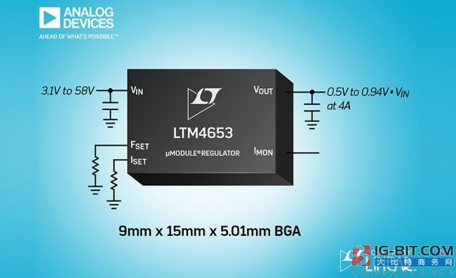 ADI rolls out Power By Linear LTM4653, use at the application such as robot of automation, industry