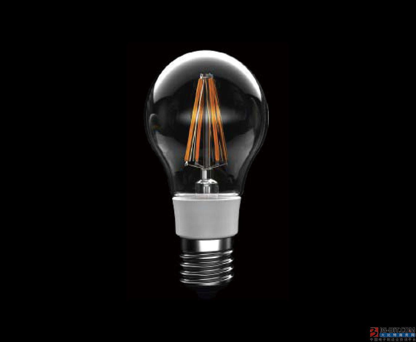 晶电与开发晶完成LED灯丝灯专利授权协议