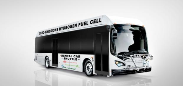 比亚迪与美国混合动力合作研发氢燃料电池车