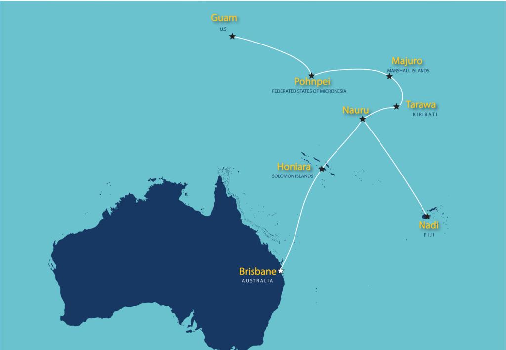 亚开行援建基里巴斯和瑙鲁海底光缆系统