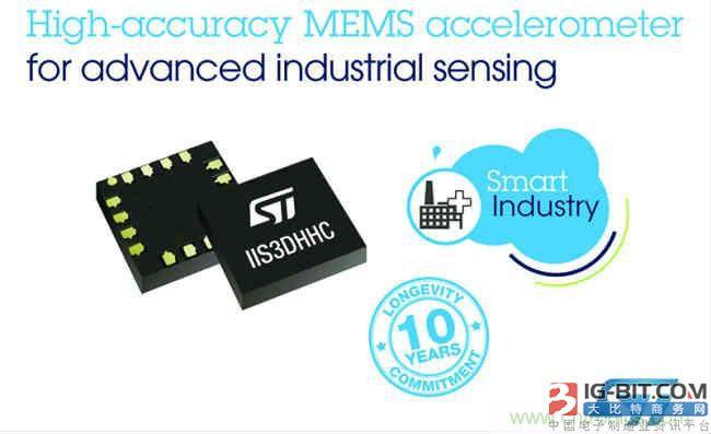 意法半导体推出新型高精度MEMS传感器