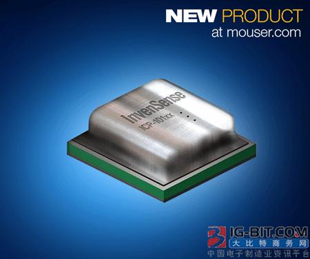 贸泽电子即日起开始分销10100 MEMS电容式气压传感器