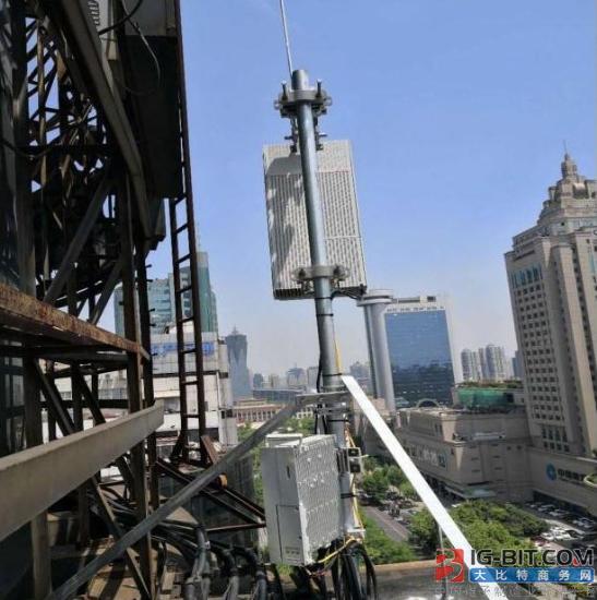 浙江联通在杭州开通首个5G基站