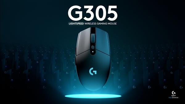 12000DPI+9个月续航!罗技入门无线鼠标G305发布