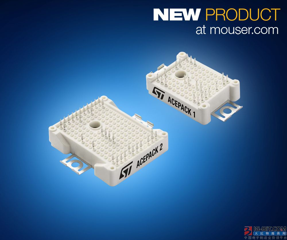 Module of STMicroelectronics ACEPACK IGBT is in what trade lustre opens carry out to offer highest 30kW is tall compositive spend power changeover