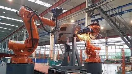 沈阳远大自主研发协作机器人首发