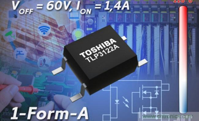 东芝面向工厂自动化和其他工业应用推出光继电器