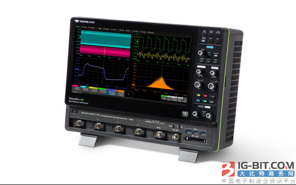 Oscillograph of high accuracy of TeledyneLecroy WavePro HD captures all detail