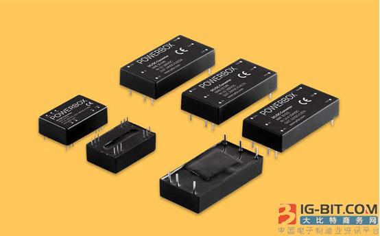 Powerbox推出可用在铁路和交通轨道领域的超宽输入DC/DC转换器
