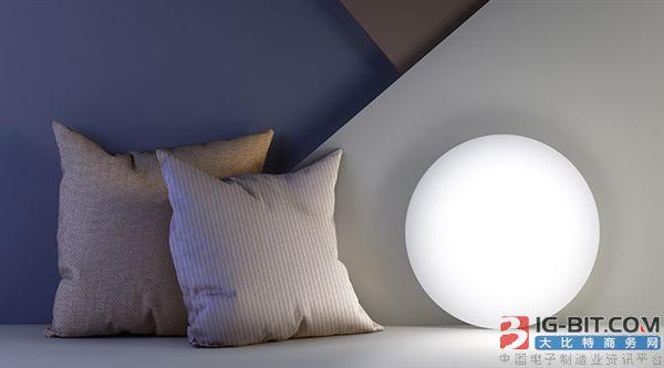 小米生态链又出新品,智能吸顶灯采用72颗LED灯珠
