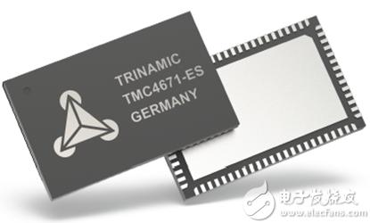 TMC4671基于硬件FOC伺服电机控制芯片适应BLDC/PMSM等