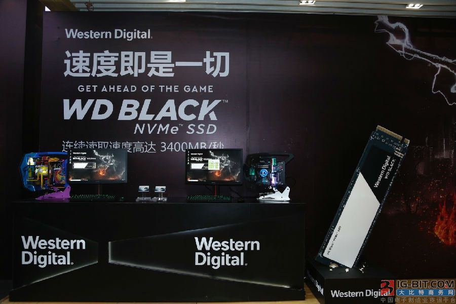 西部数据推出新款游戏固态硬盘