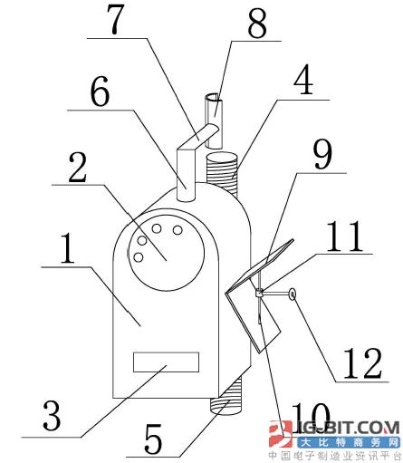 【仪表专利】便于安装的NB-IOT无线远传水表