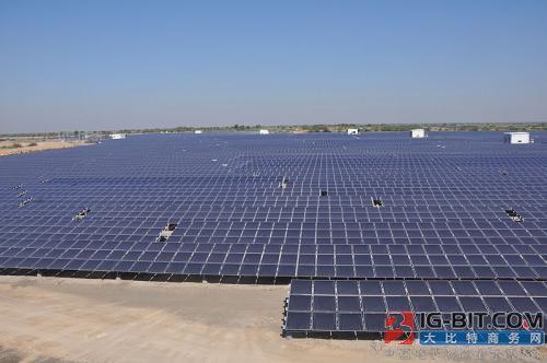 印度积极发展超大型太阳能发电厂 试图领先中国实现平价上网
