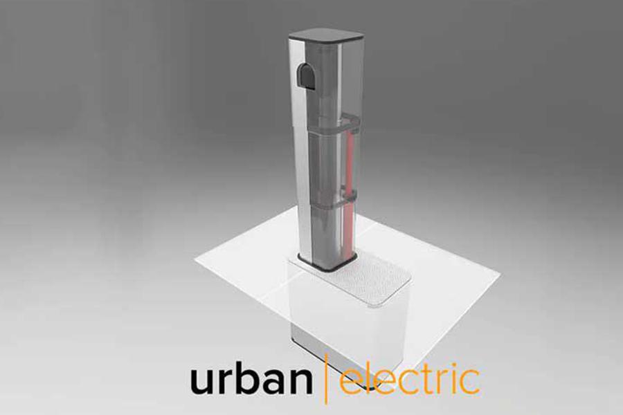 Urban Electric推出可伸缩式充电桩 可隐藏在地下